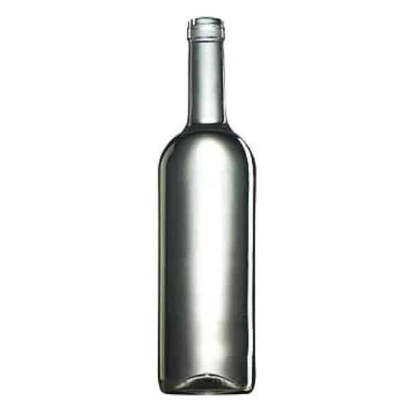 butelka na wino BDO 410  750 ml - bezbarwna