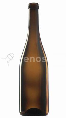 butelka na wino BURGUNDER ALTA 750 ml - brązowa