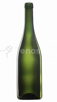 butelka na wino BURGUNDER ALTA 750 ml - oliwka
