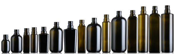 butelka na olej i oliwę DORICA TOP 750 ml - ciemna (antique green)
