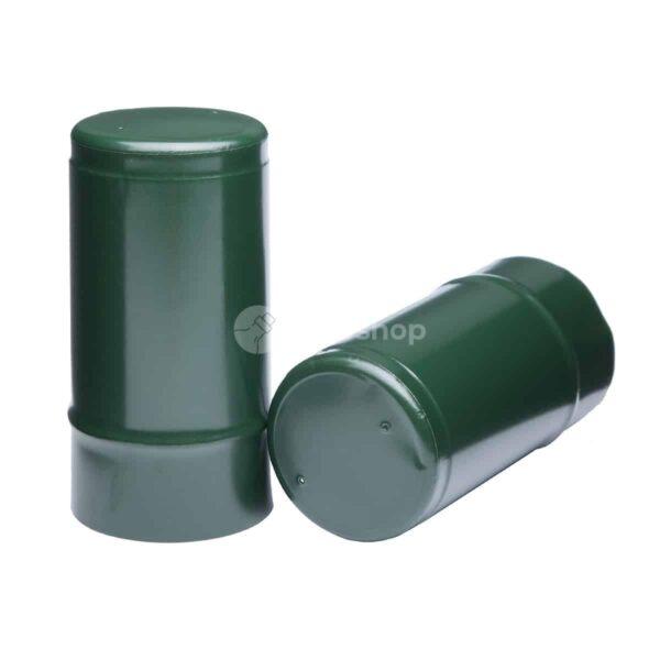 Kapturki POLY 29,3x60 - ciemnozielone