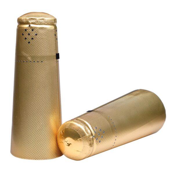 Kapturki szampańskie 34x125 ZŁOTE