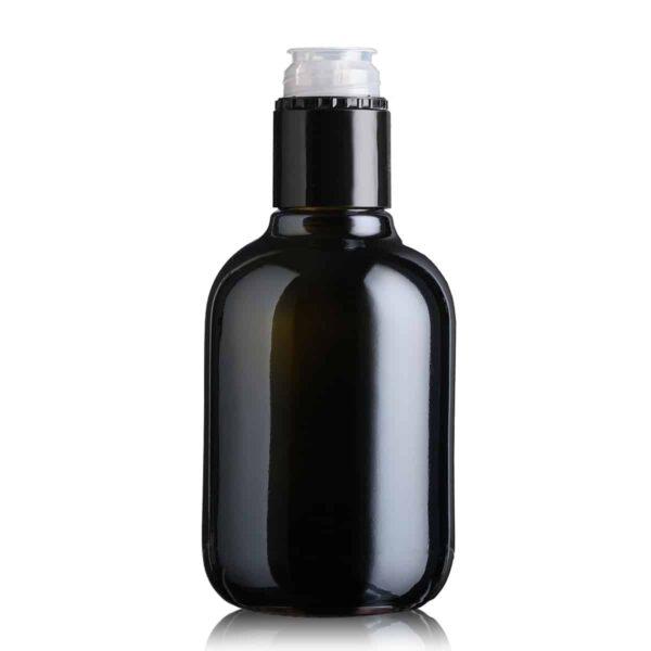 piękna butelka na olej i oliwę BIOLIO 250 ml - ciemna