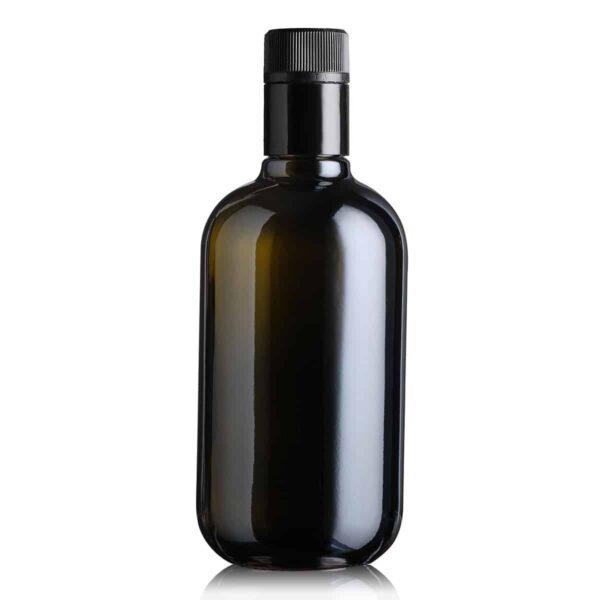 piękna butelka na olej i oliwę BIOLIO 500 ml - ciemna