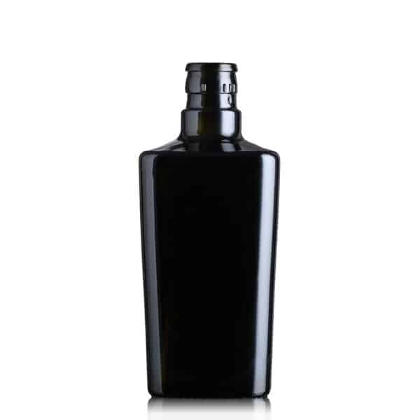 ekskluzywna butelka na olej i oliwę COLETTE 500 ml -  ciemna