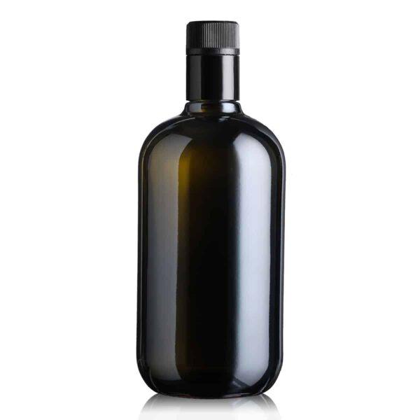 piękna butelka na olej i oliwę BIOLIO 750 ml - ciemna