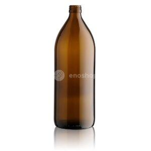 butelka apteczna LEKOVKA 1000 ml - brązowa