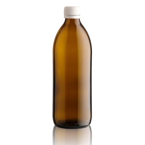 butelka apteczna LEKOVKA 500 ml - brązowa