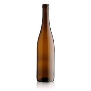 butelka na wino RHEINWEIN AW 750 ml - brązowa