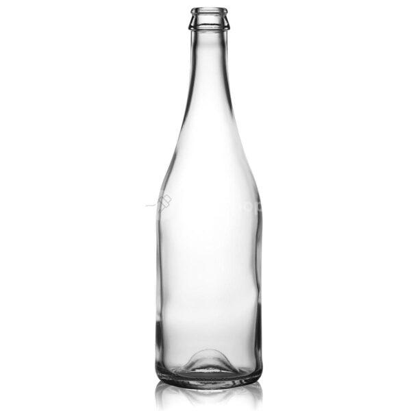 butelka na wino musujące , piwo , cydr SEKT 750 ml bezbarwna