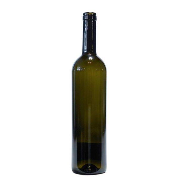 butelka na wino BORDEAUX TIFFANY 750 ml - verdetrusco