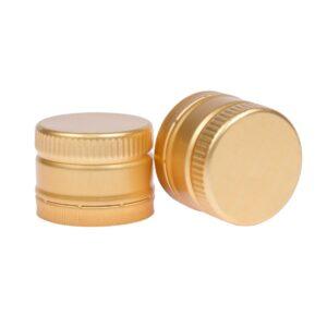 zakrętka do oliwy 31,5x24 złota z wkładką