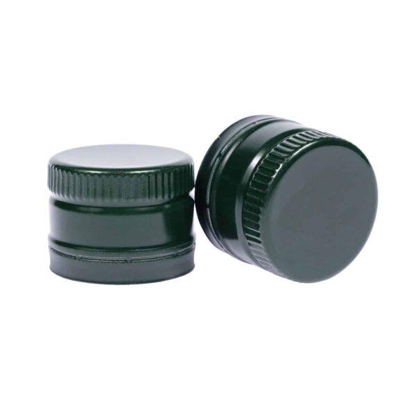 zakrętka do oliwy 31,5x24 zielona z wkładką