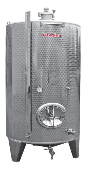 zbiornik fermentacyjny ze stali nierdzewnej
