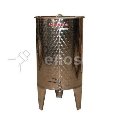 Zbiornik fermentacyjny na wino LETINA PZ 150 - kompletnie wyposażony