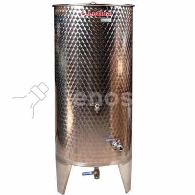 Zbiornik fermentacyjny na wino LETINA PZ 1500 - kompletnie wyposażony