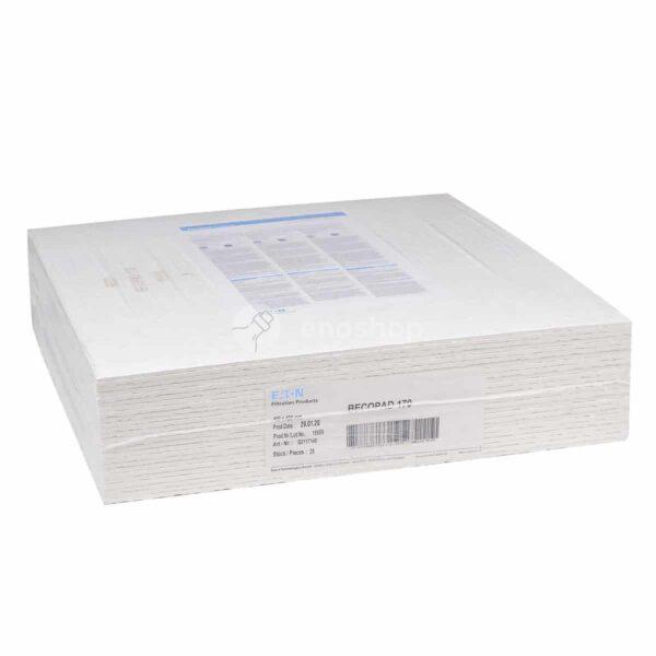 Płyty filtracyjne Eaton Becopad 170 / 40x40 cm 25 szt.