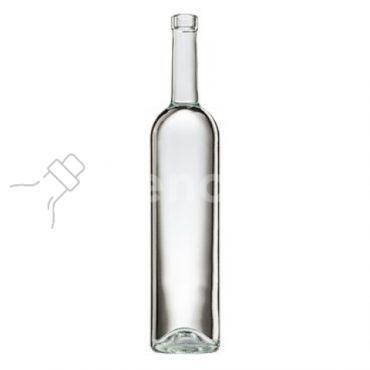 butelka na wino BORDOLESE EUROPEA 750 ml - bezbarwna