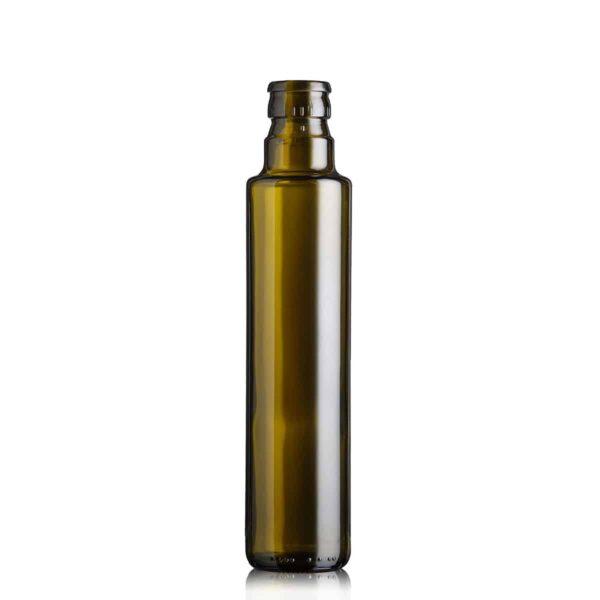 butelka na olej i oliwę DORICA TOP 250 ml - ciemna