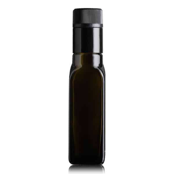 butelka na olej i oliwę MARASCA TOP 100 ml - ciemna (antique green)