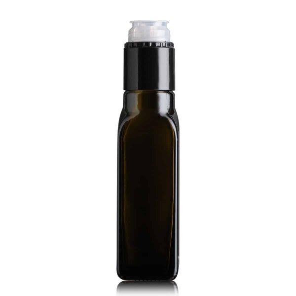 butelka na olej i oliwę MARASCA TOP 100 ml - ciemna
