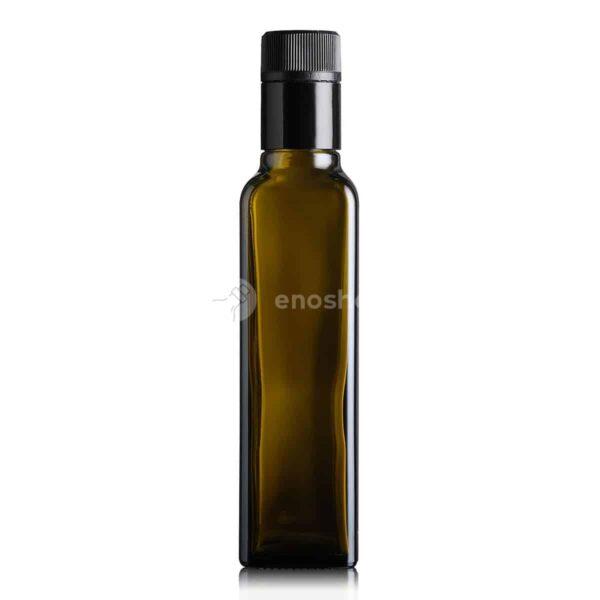 butelka na olej i oliwę MARASCA TOP 250 ml - ciemna (antique green)