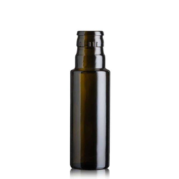 butelka na olej i oliwę DORICA TOP 100 ml - ciemna (antique green)