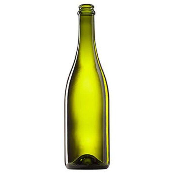 butelka do piwa, cydru, win musujących SEKT 750 oliwka