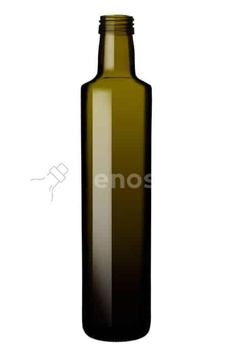 butelka na olej i oliwę DORICA  500 ml - ciemna
