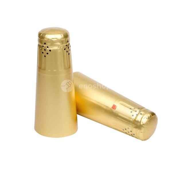 Kapturki do szampana 34x120 ZŁOTE