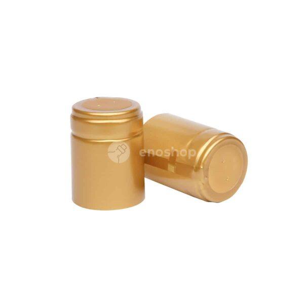 kapturki termokurczliwe do oliwy 33x45 mm złote