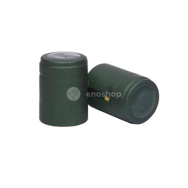 kapturki termokurczliwe do oliwy 33x45 mm ciemnozielone