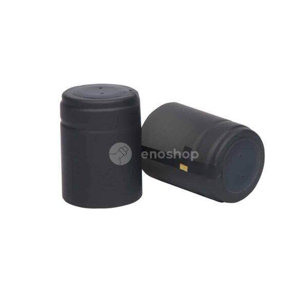 kapturki termokurczliwe do oliwy 33x45 mm czarny mat