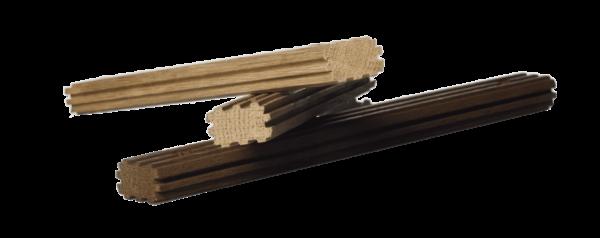 klepki dębowe VICARD mini - dąb francuski lekko wypiekane, ryflowane