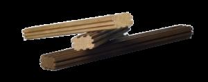 klepki dębowe VICARD mini - dąb francuski mocno wypiekane, ryflowane