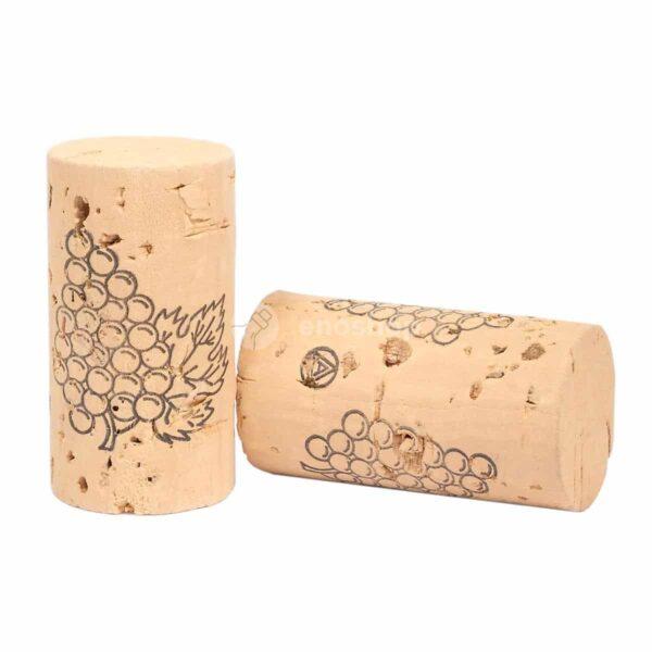 korki do wina Natural 1st 45x24