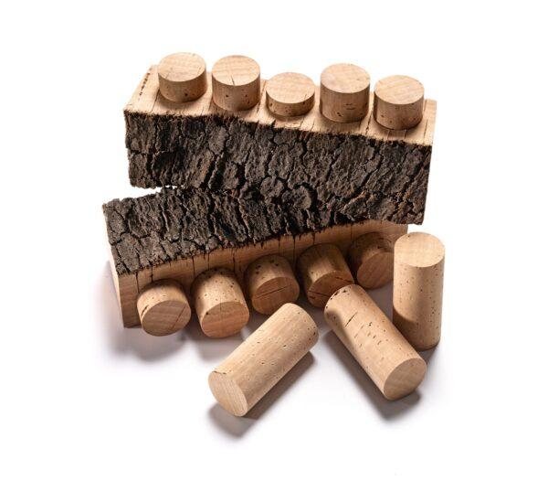 korki do wina Natural 1st 45x23,5 mm - 100 szt.