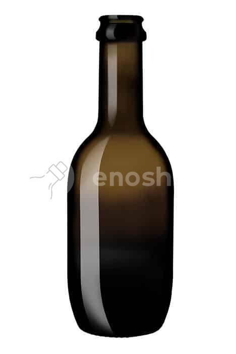 butelka do piwa BIRRA MALT 330 ml - ANTIQUE GREEN
