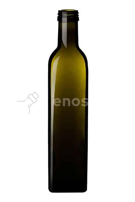 butelka na oliwę MARASCA 250 ml ciemnozielona - do oleju i oliwy