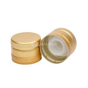 zakrętka do oliwy 31,5x24 złota bez gwintu