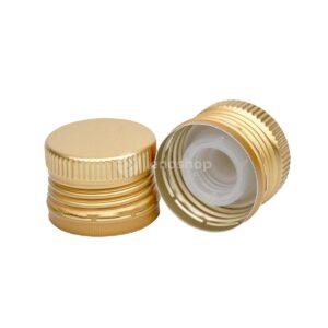 zakrętka do oliwy 31,5x24 złota z gwintem