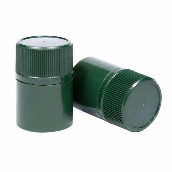 zamknięcie do oliwy DOP - ciemnozielone
