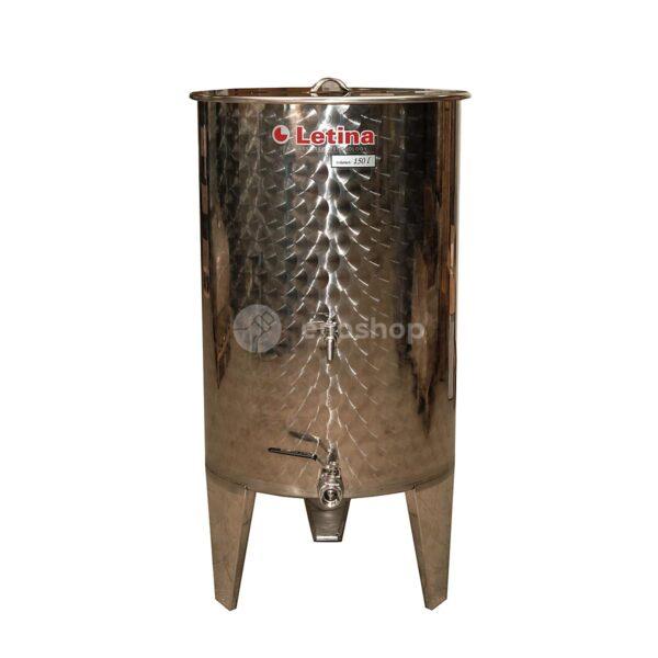 Zbiornik fermentacyjny na wino LETINA PZ 200- kompletnie wyposażony